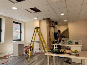 Network and CCTV setup at Slipaczek Chartered Financial Planners, London